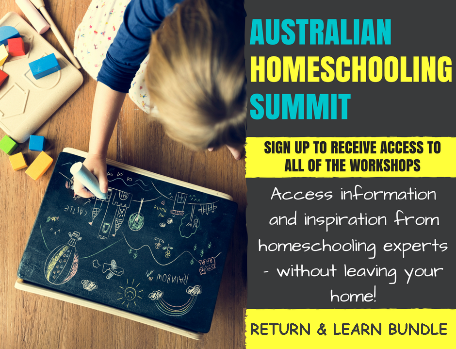 Access all the content plus BONUSES from the Australian Homeschool Summit
