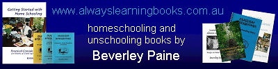 Stocking all of Beverley Paine's, the educating parent's, books!
