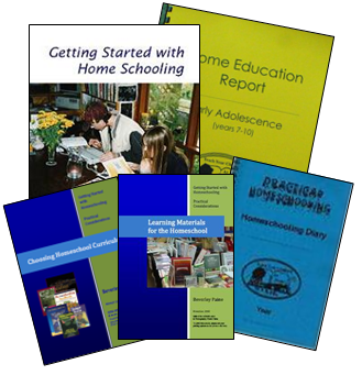 let Beverley Paine, the educating parent, help you create truly individualised learning plans and activities for your homeschooling and unschooling children with her collection of books