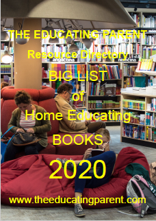 Free download Beverley's huge list of books about homeschooling and unschooling in her special edition of The Educating Parent Resource Directory